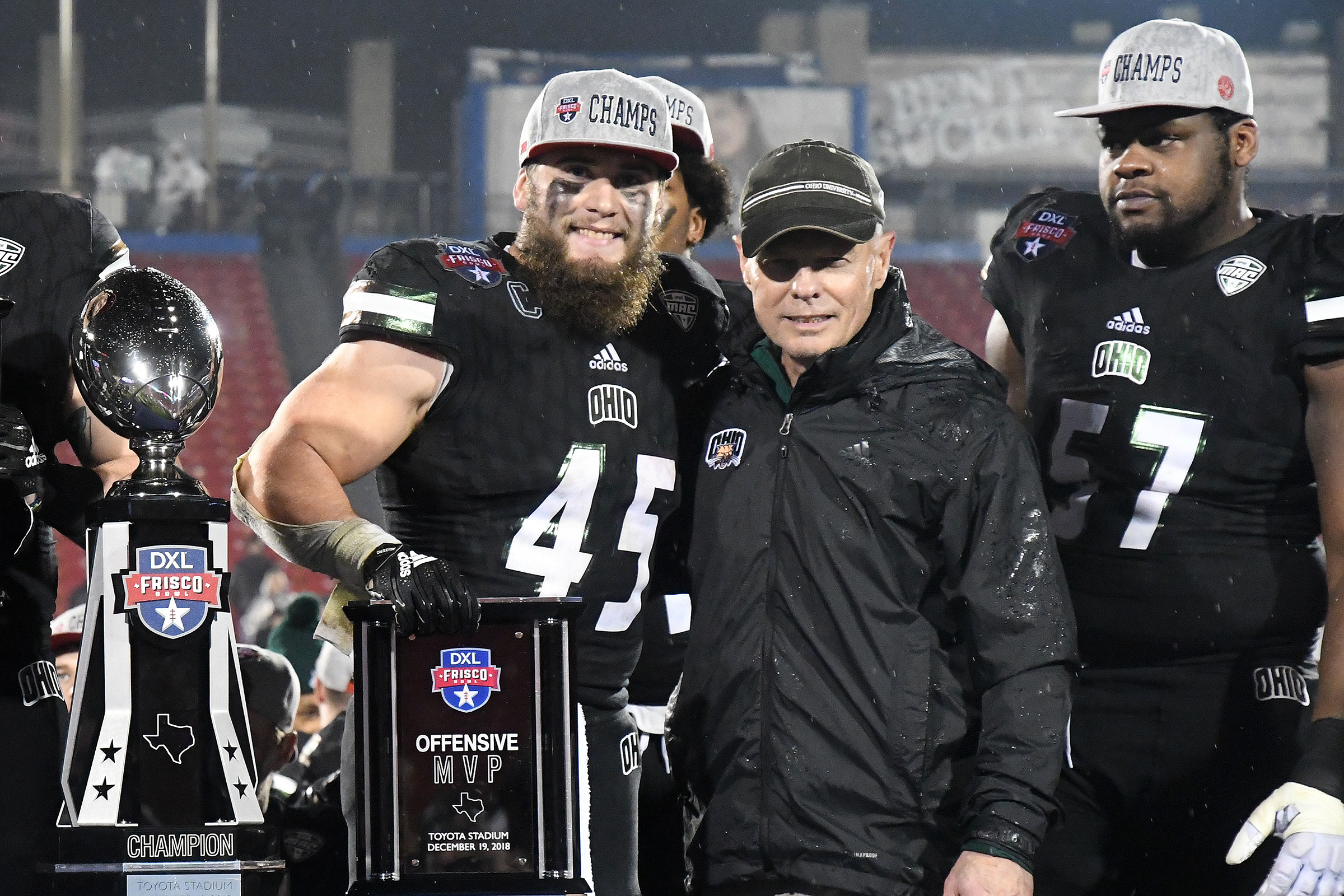 AJ Named MVP of Frisco Bowl…