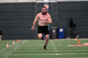 Ouellette Impresses During Pro Day…
