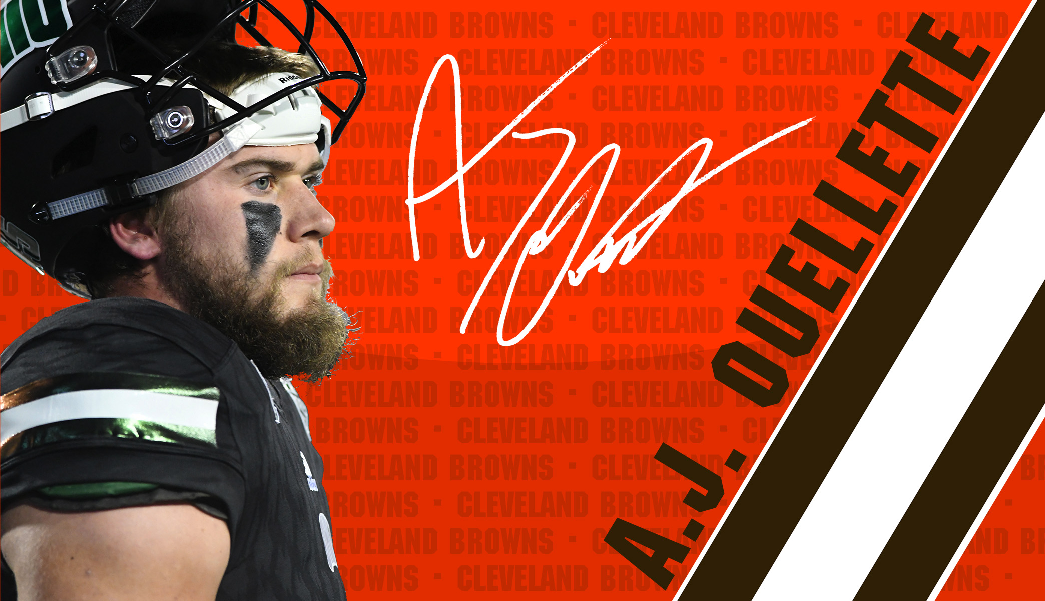 Cleveland Browns Sign Ouellette…